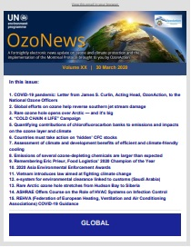 OzoNews, Volume XX, 30 March 2020 issue