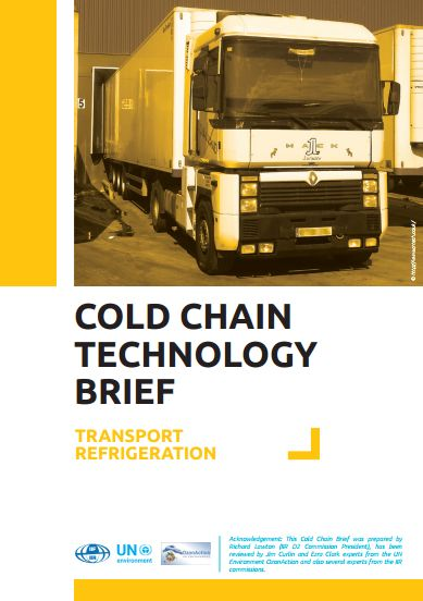 Cold Chain Technology Brief - Transport Refrigeration
