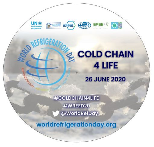 World Refrigeration Day: Cold Chain 4 Life - STICKERS