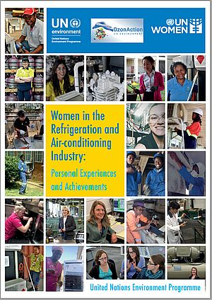 Women in Refrigeration and Air Conditioning - front cover