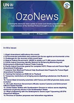 OzoNews, Volume XIX, 30 August 2019 issue