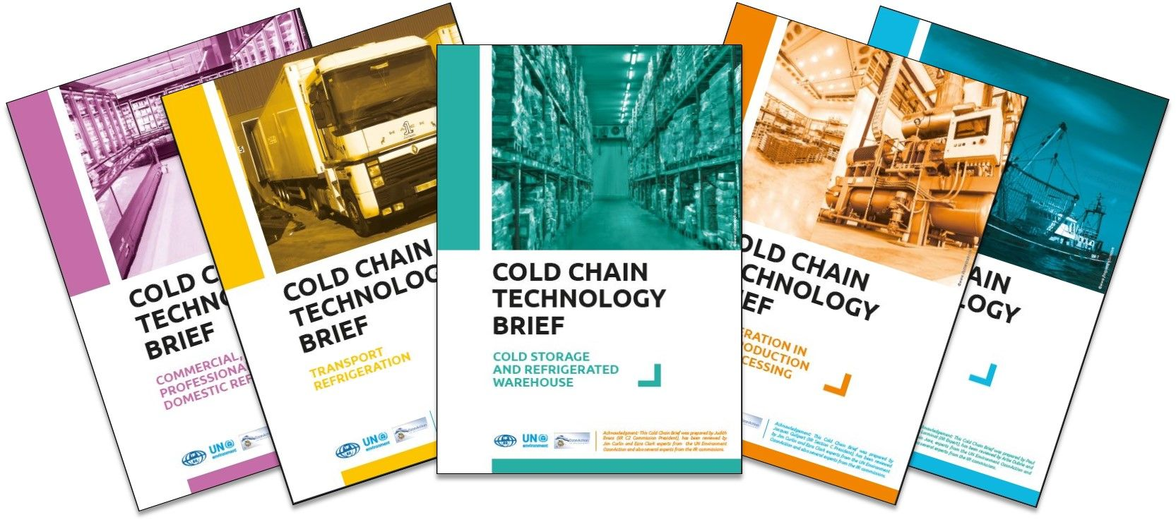 Cold chain booklets